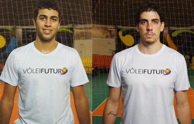 Alan Ferreira e Guilherme Hage