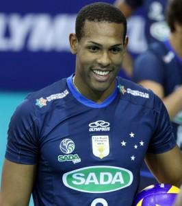Jogador cubano é uma das principais armas do Sada no ataque (Foto: Renato Araújo/Divulgação Sada)
