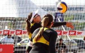 Brasil vem obtendo bons resultados no Circuito Sul-americano (Foto: Divulgação/CBV)