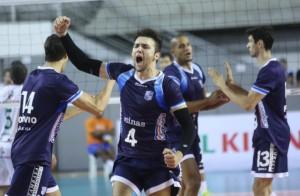 Minas voltou a jogar bem e está merecidamente na semifinal (Foto: Divulgação/Minas)