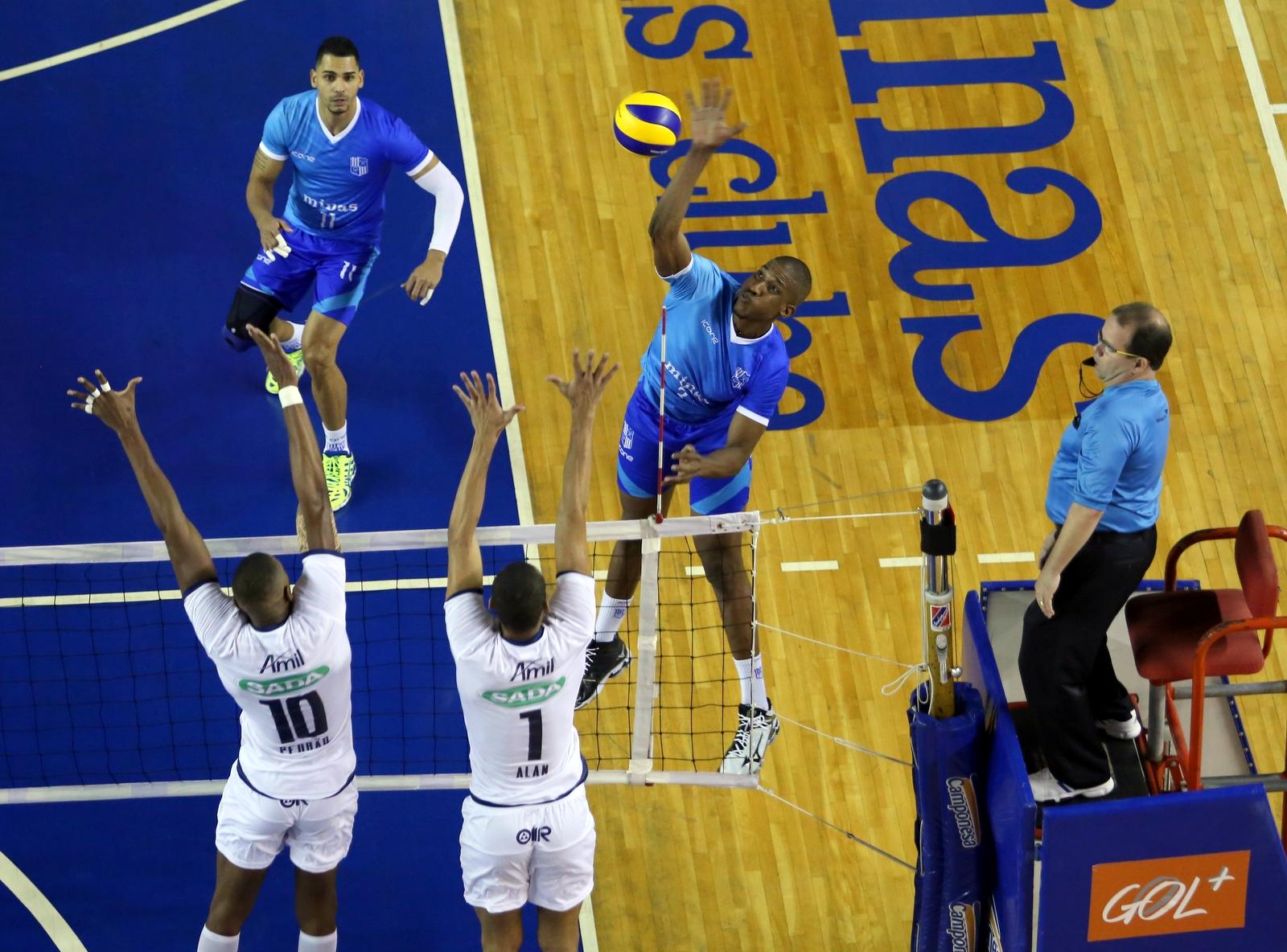 Crédito: Orlando Bento/Minas Tênis Clube