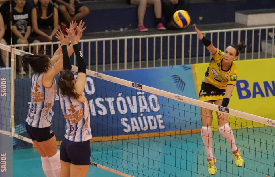 Crédito: Associação Atlética São Caetano Voleibol/Facebook